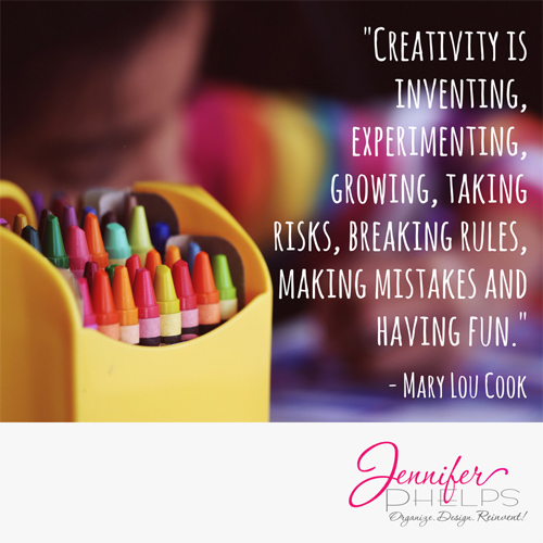 Creativity is…How do you create?