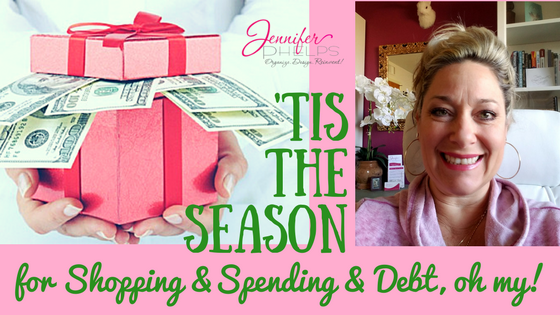 'Tis the Season for Shopping and Spending and Debt, oh my!