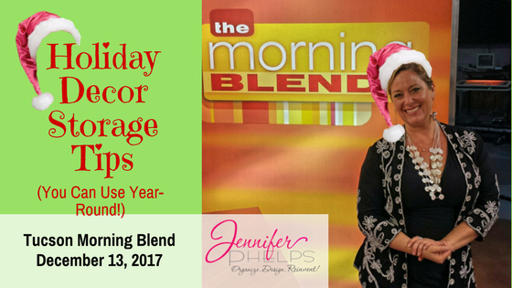 Got Your Tinsel in a Tangle? Decor Storage Tips & Morning Blend Video