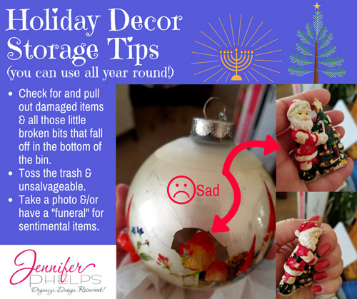 Holiday Decor Storage Tip #1