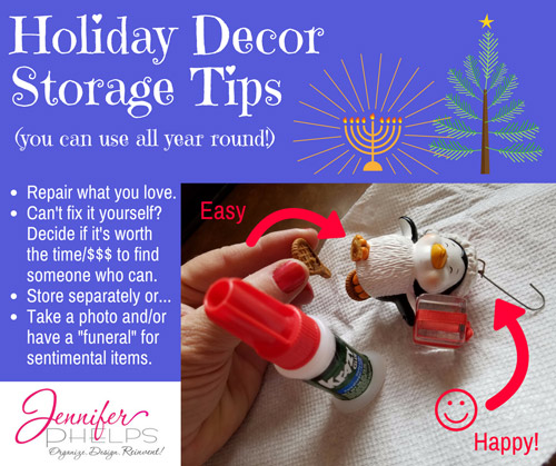 Holiday Decor Storage Tip #2