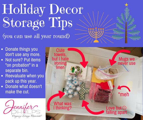 Holiday Decor Storage Tip #3