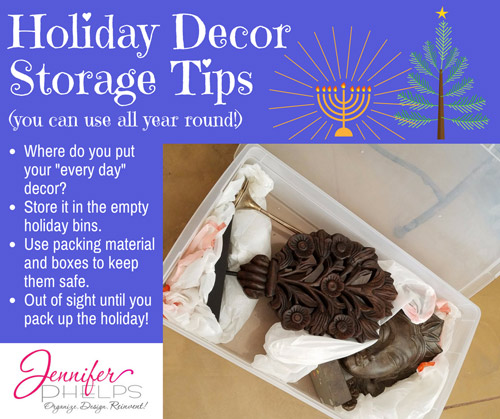 Holiday Decor Storage Tip #4