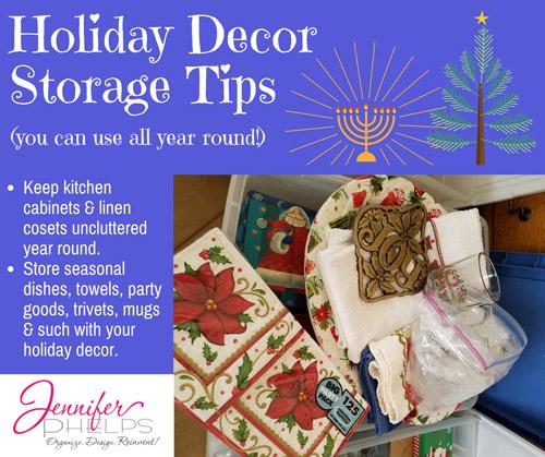 Holiday Decor Storage Tip #5