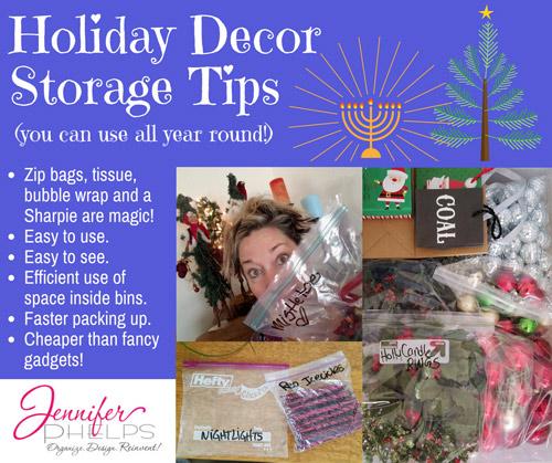 Holiday Decor Storage Tip #7