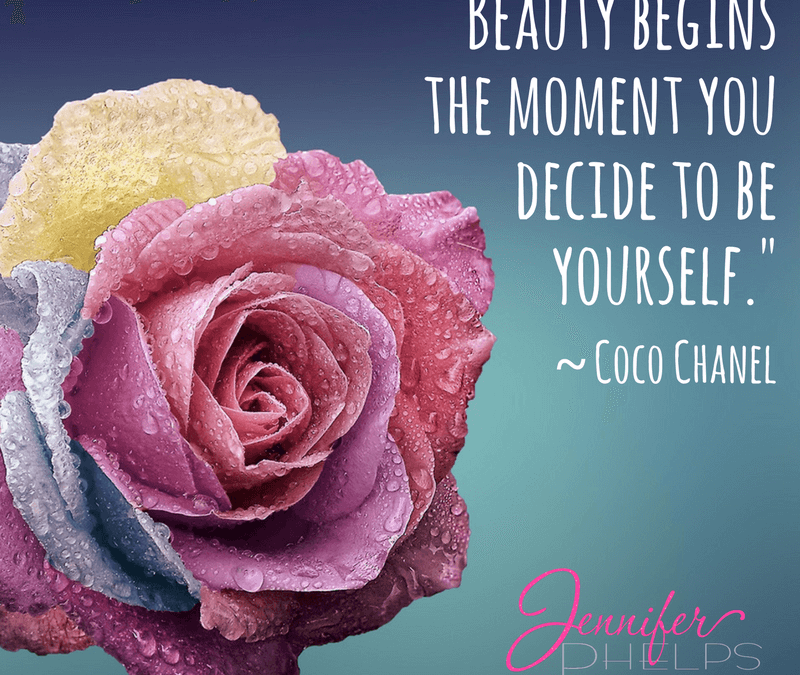 Beauty is Being YOU! Hump Day Love Bomb