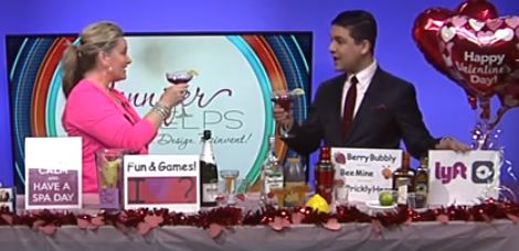 Valentine's Day for Lovers and Singles: Love, Fun & Cocktails you can share ANY day! plus Morning Blend